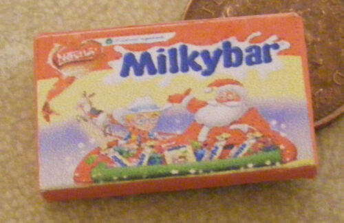 1:12 Scale Empty Milkybar Selection Packet Tumdee Dolls House Sweets Accessory