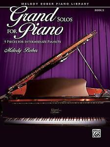 Grand-Solos-for-Piano-Bk-5-9-Pieces-for-Intermediate-Pianists-Used-Good