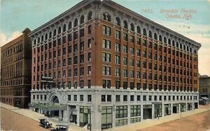 Omaha-Nebraska-Brandeis-Theatre-Henry-Miller-2nd-Balcony-Entrance-Door-1914-PC