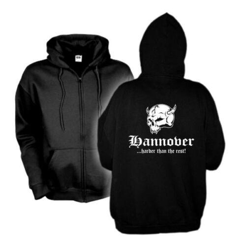 sfu14-11e Giacca con cappuccio Hannover harder than the rest città hoodie