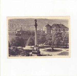 AK Ansichtskarte Stuttgart / Schlossplatz - 1938