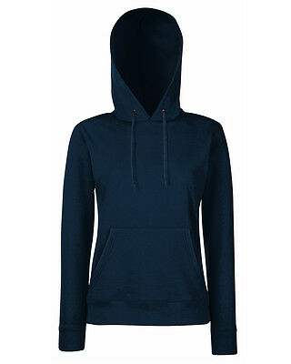 Fruit Of The Loom Lady-Fit Hooded Sweat - Ladies Hoodie top - sizes xs to xxl