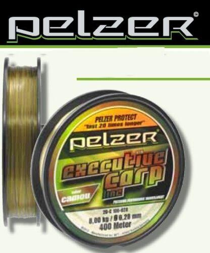 Pelzer Executive Carp Line 400m Karpfenschnur 0,02€//1m 0,28mm bis 0,40mm
