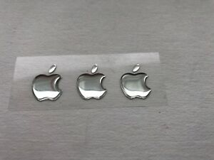 3x3D-Bombe-Apple-Miroir-Logo-Autocollant-pour-Iphone-Arriere-Size-15-5x12-6-Mm