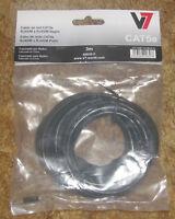 V7 V7c5e-10f Blks Cat 5e Patch Cable