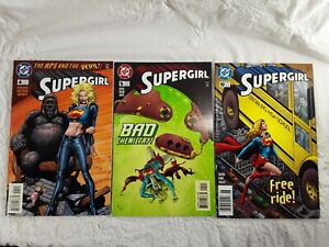 SUPERGIRL-Comic-Books-4-5-10-1996-1997-DC-Comics