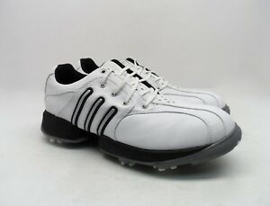 Details about Adidas Women's Kid's Tour Traxion adiPRENE Z-Traxion Soft Spike Golf Shoes White