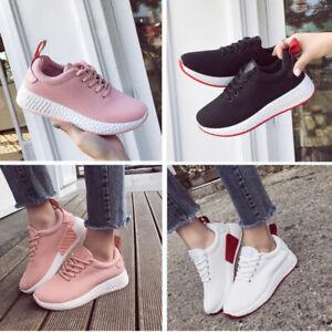5245f5a074413c Das Bild wird geladen Damenschuhe-Schuhe-Freizeit-Sneakers-Sportschuhe- Turnschuhe-Laufschuhe-Gr-