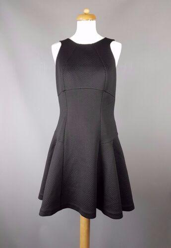 Uk Dress Cidia Black Skater Size 2 Baker 10 Ted xfZqB4w