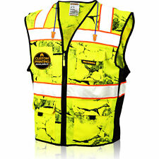 Kwiksafety Uncle Willys Wall High Vis Reflective Ansi Class 2 Safety Vest