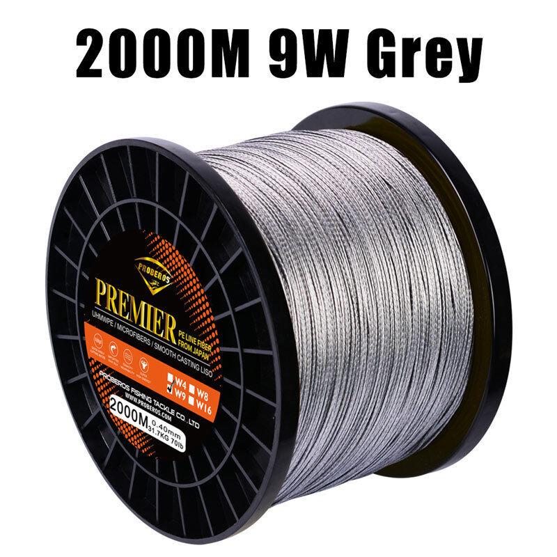 2000M&2187yds Fishing Lines 8W&9W&16W 40lb-310lb Braided Lines 5 Color Color Color Pe lines 6faec9