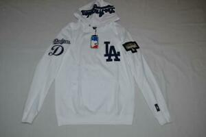 Men's Pro Standard White Los Angeles Dodgers Hoodie Team Collection Pullover
