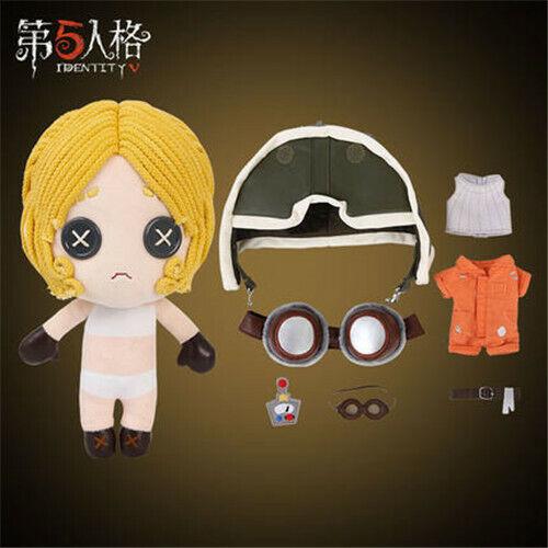 Identity V Survivor Tracy Mechanic Cosplay Plush Toy Doll Original Skin Officia
