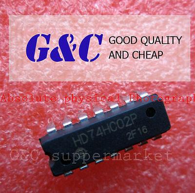 10PCS HD74HC02P  DIP IC HITACHI NEW GOOD QUALITY