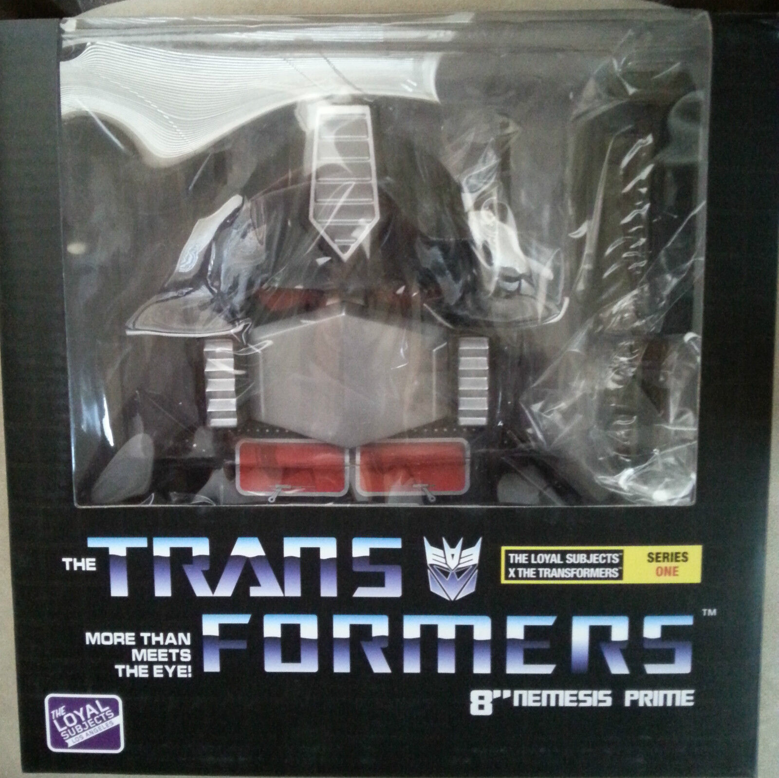 The Loyal Subjects Transformers NEMESIS PRIME 8 Inch Vinyl Figure Figure Figure RARE ec1b00