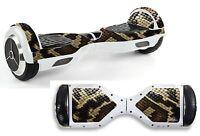 Snake Skin Sticker/skin Hoverboard / Balance Board Hov15