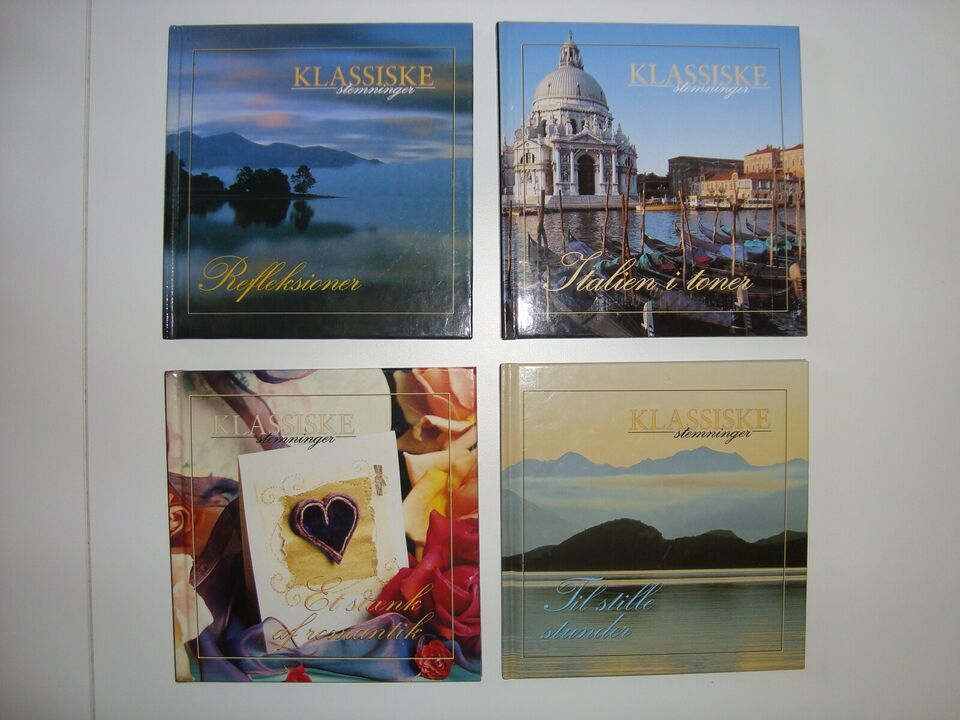 21 CD'er fra forskellige kunstnere: Mange forskellige