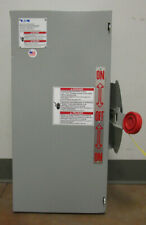 Dt362ugk Eaton Double Throw Safety Switch 3 Pole 600vac 250vdc Type 1
