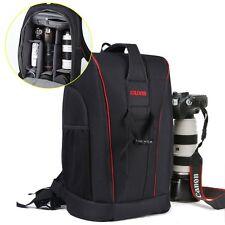 TOP-MAX Large DSLR Camera Bag Backpack (Size: L 28*W 14*H 42 cm)