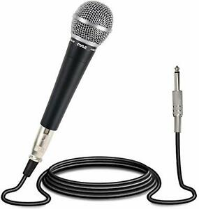 NEW-Pyle-Pro-PDMIC58-Professional-Moving-Coil-Dynamic-Handheld-Microphone
