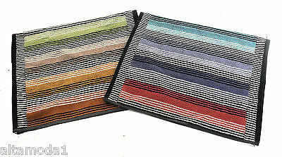 Ordinato Missoni Home Confezione Regalo 2 Asciugamani Ospiti Ross 100 Lilium Multicolor
