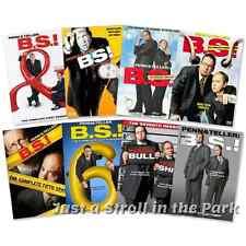 Penn & Teller BS Bullshit! Complete Series Season 1 2 3 4 5 6 7 8 Box/DVD Set(s)