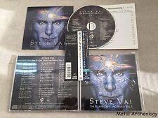 Steve Vai - Elusive Light and Sound Vol. 1 JAPAN CD 2002 (VICP-61892) 3D OBI