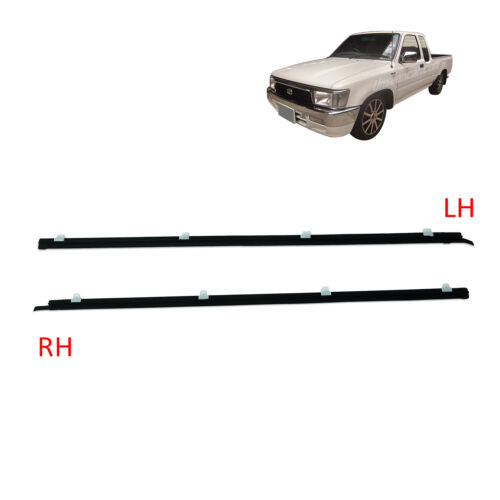 For Toyota Mighty-X 1988 1996 97 Set Outer Door Weather Window Rubber Seal Belt