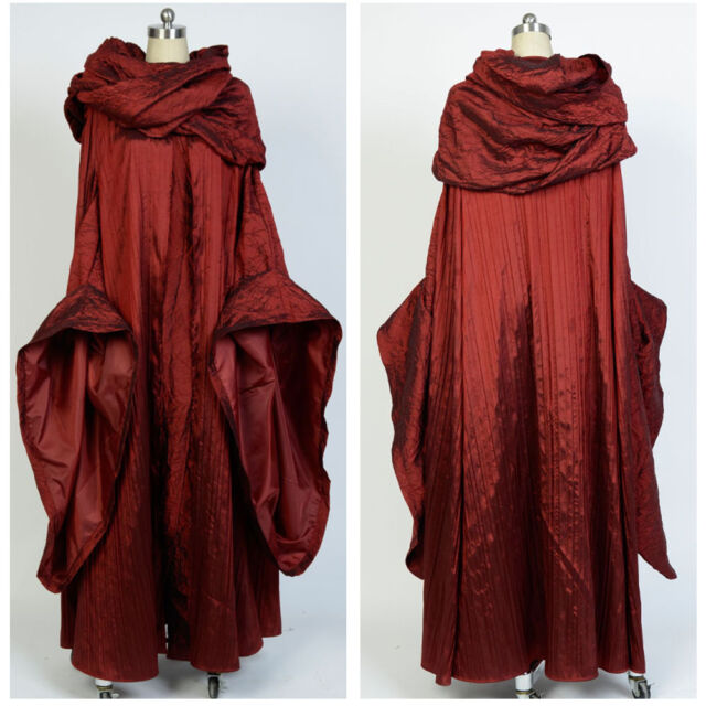 GoT Game of Thrones The Red Woman Melisandre Cosplay Costume Outfit Suit Dress