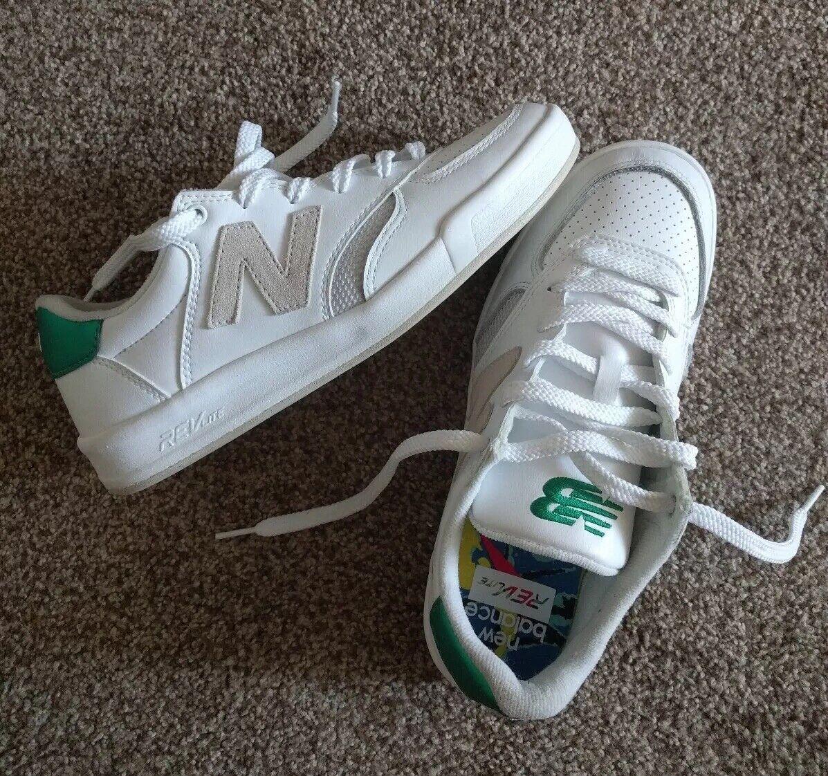 New Balance Men's CRT300DK Size 7.5 REVlite Classics NEW White, Green