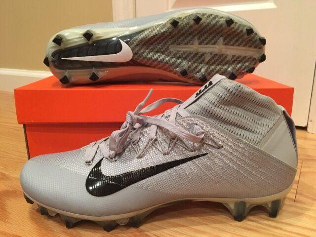 online store 2c335 95720 Nike Vapor Untouchable 2 CF Football Cleats Wolf Grey Black 924113-002 Mens  Size