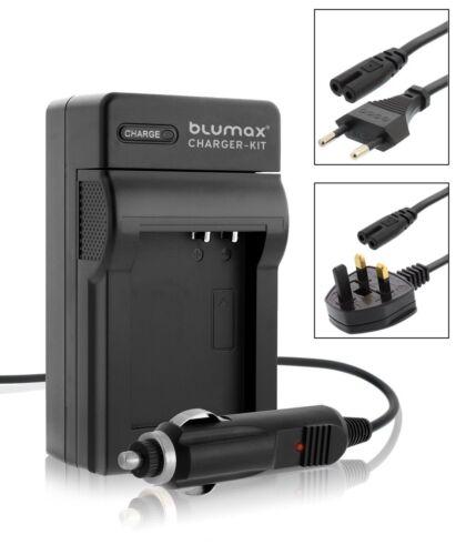 Red Para Auto Y Cargador Para Panasonic Cga S008 Bce10e Dmc Fx55 Fx500 Fs5 Fs3 Batería