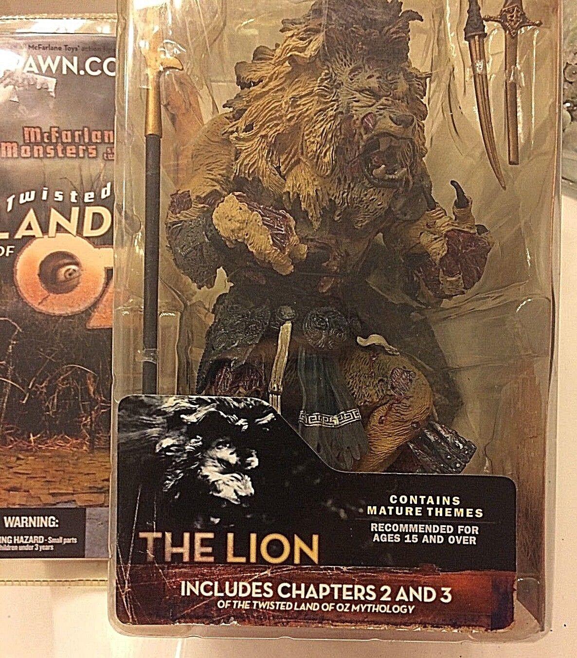 Der löwe ist mcfarlane spielzeug oz reihe 2 nib figur.