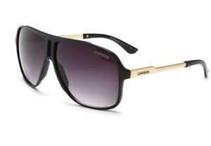 Fashion-Men-amp-Women-039-s-Retro-Sunglasses-Unisex-Matte-Frame-Carrera-Glasses-Box-5