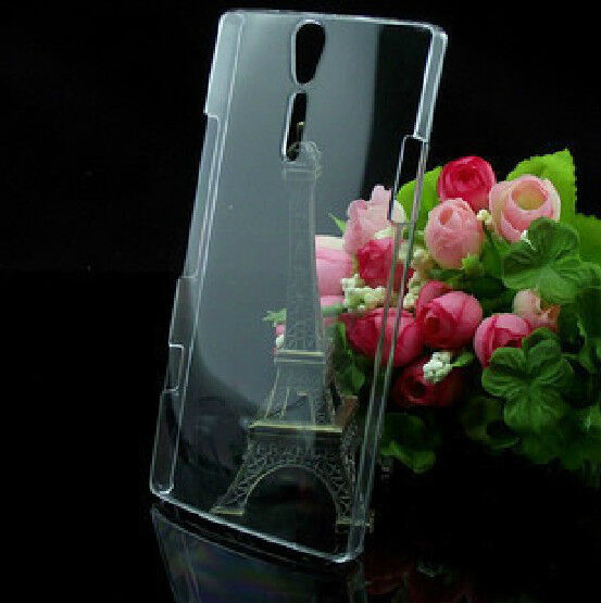 New Crystal Transparent Hard Back Cover Case For Sony Xperia mobile phones