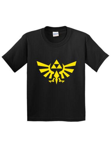 New Way 1302 - Youth T-Shirt Zelda Link Triforce Legend Triumphant
