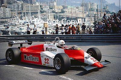 Andrea De Cesaris Alfa Romeo 182B Monaco Grand Prix 1982 ...