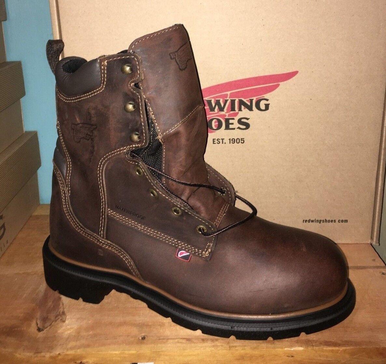 autentico online RED WING 400 WATERPROOF WORK stivali stivali stivali 100% AUTHENTIC CLEARANCE  acquista la qualità autentica al 100%
