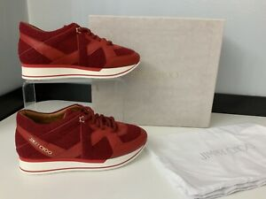 Jimmy Choo NEW Red Sneakers Trainers