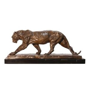 9973916-ds-Bronzo-Scultura-Figura-Panther-Felino-Su-Piedistallo-52x16x23cm