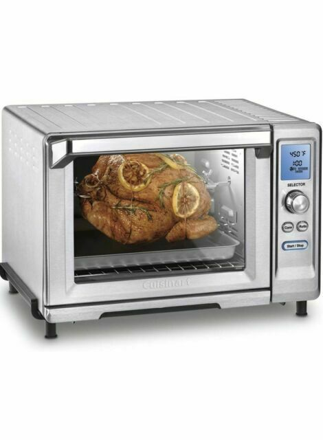 CUISINART TOB- 200N ROTISSERIE CONVECTION TOASTER OVEN  Stai