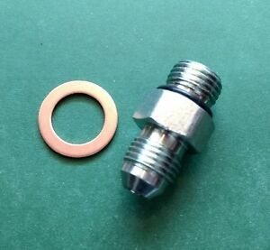 MOPAR-Power-Steering-Box-Pressure-Hose-FITTING-Saginaw-Dodge-Plymouth-Chrysler