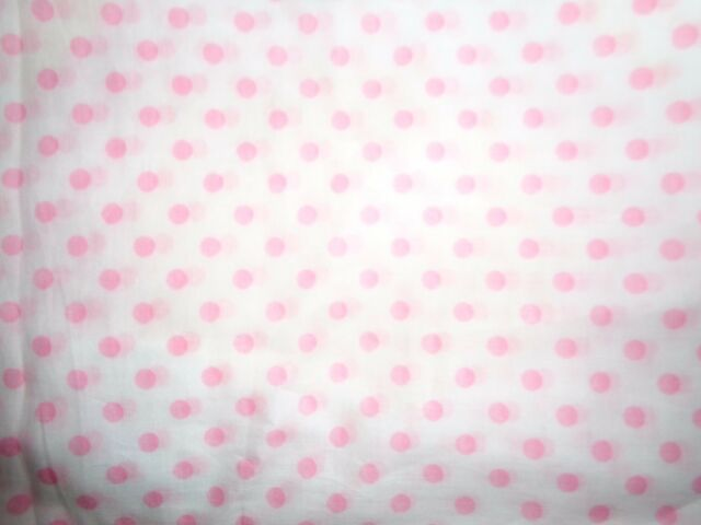 New Pottery Barn Pink Polka Dot Set Of 2 Sheer Window