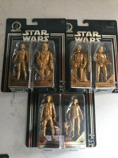 estrella guerras 3.75 Commemorative edizione cielowalker Saga oro cifraS Set  Vader
