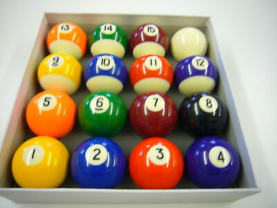 2 1//4Inch Spots and Stripes American Pool Balls by Funky Chalk