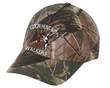 Cap Hat Camo Treeing Walker Coon Hound Coonhound Dog Hunter