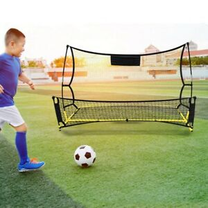 678978dd497 Image is loading Portable-Football-Rebounder-Mesh-Net-Outdoor-Sports-Soccer-