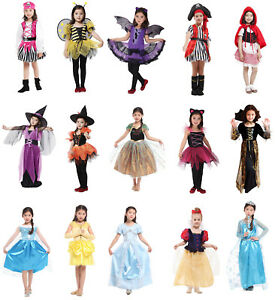 Halloween Outfits For Kids.Details About Girls Pirate Fairy Halloween Costume Outfits Party Fancy Dress Up Clothes Kids