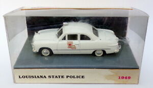 White-Rose-1-43-escala-dedf-98005W-LA-1949-Ford-Louisiana-State-Police