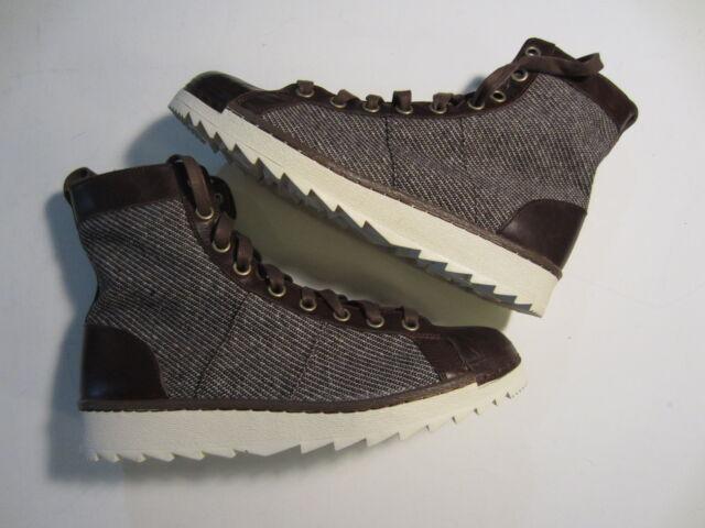 NEW Adidas Superstar Jungle Originals mens high boot shoe B35228 brown 7 10.5